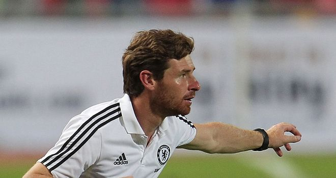 Villas-Boas: Directing operations from the touchline as Chelsea cruise to win
