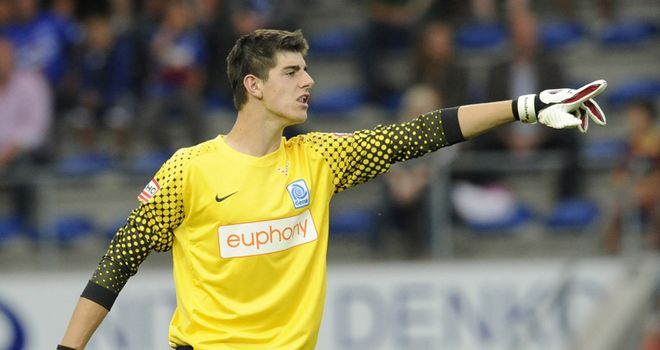 Courtois: Genk have accepted a big-money offer from Chelsea for goalkeeper