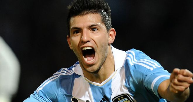 Sergio Aguero: Was called up by Argentina