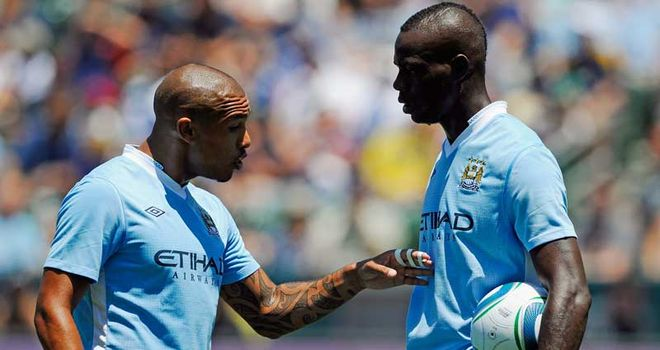 Nigel de Jong: Says Manchester City team-mate Mario Balotelli needs to show his genius
