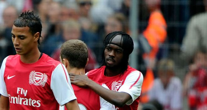 Gervinho: Arsenal's new signing is already collecting praise from his new team-mates