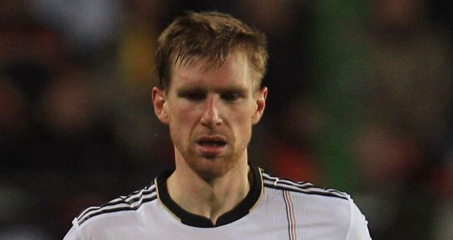 Mertesacker: Has been given permission by Germany coach to travel to London for a medical