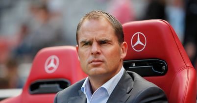 De Boer: Has included Lukoki in his first-team squad