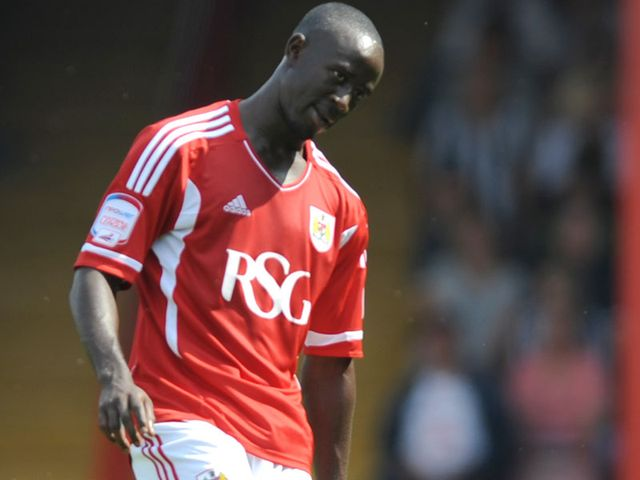 Albert Adomah: Gave Bristol City the lead