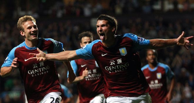 Eric Lichaj: Scored his first Aston Villa goal before suffering hip injury