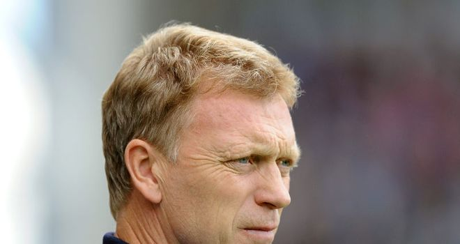 Moyes: Delighted with his side's work rate despite being held at home