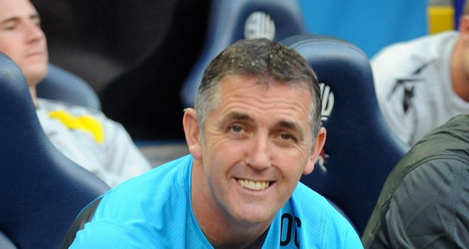 Owen Coyle: Bolton have taken just three points from their opening seven matches