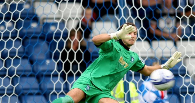 Cameron Belford: Bury goalkeeper has joined Southend United on a month's loan