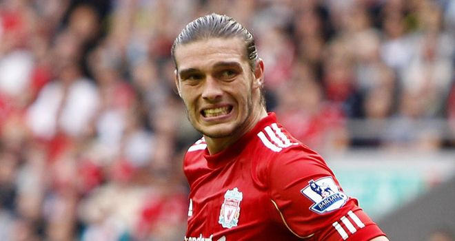 Carroll: Left out of starting line-up for Liverpool's win at Brighton