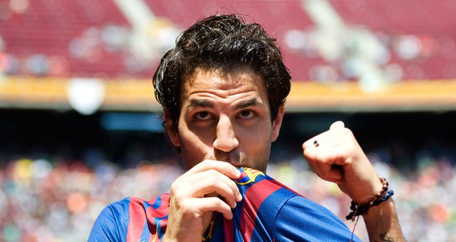 Fabregas: Spain midfielder has left Arsenal to sign five-year deal with Barcelona