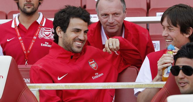 Fabregas: Wanted by boyhood club Barcelona