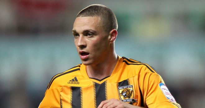 James Chester: Attracting Premier League suitors, however he says he is happy in Hull