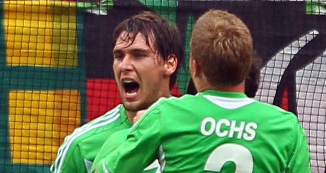 Patrick Helmes: In line for the captaincy at Wolfsburg