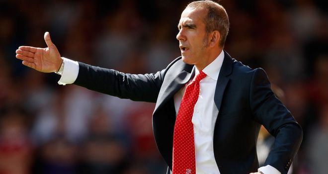 Di Canio: Set to continue his eventful spell in charge at Swindon away at Crawley