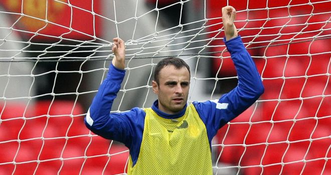Berbatov: Has been reassured he will be given some game time by United boss Sir Alex Ferguson