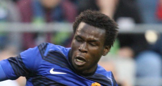 Mame Biram Diouf: Played just three Carling Cup matches this season