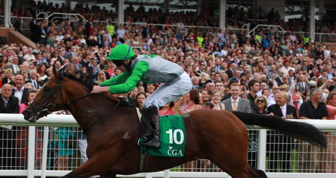 Excelebration: Claimed first Group One win at Longchamp