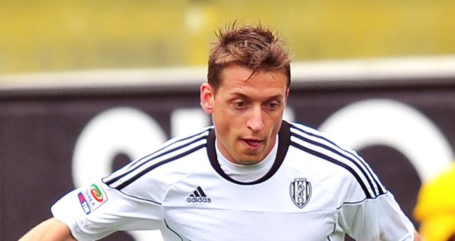 Giaccherini: Signed a three-year contract at Juventus