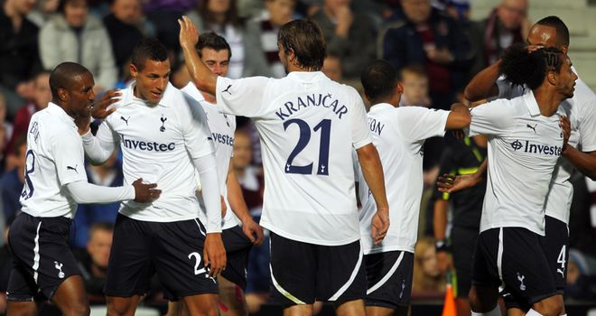 Livermore: Looking to make an impression at Spurs after scoring in the Europa League