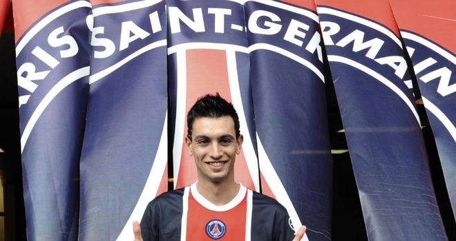 Pastore: Hoping to help PSG to major silverware