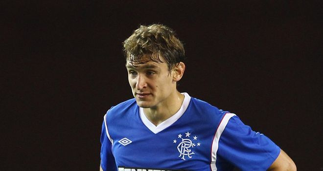 Jelavic: Expected to return from a knee injury for Rangers in Sunday's Old Firm derby