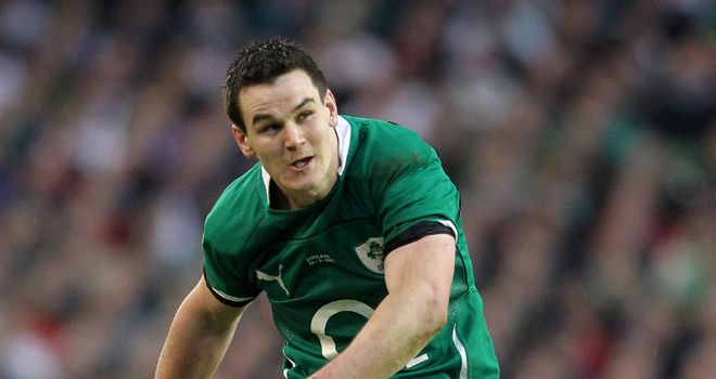 Jonathan Sexton: Ireland stand-off given clean bill of health
