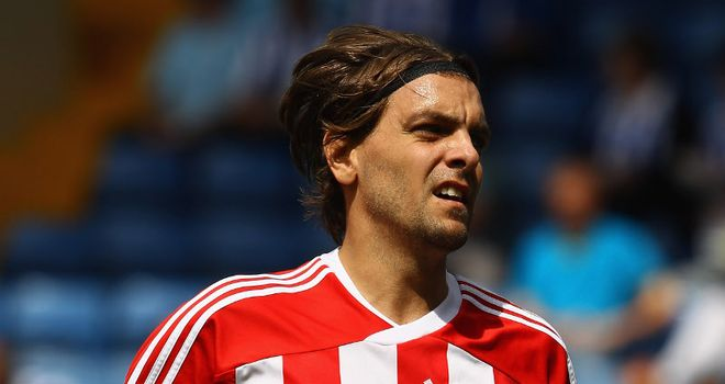 Jonathan Woodgate: Is in contention for a starting place for Stoke's tie against Liverpool in the Carling Cup