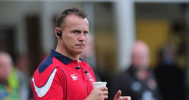 Kingsley Jones: Boosted the coaching staff of the Newport Gwent Dragons