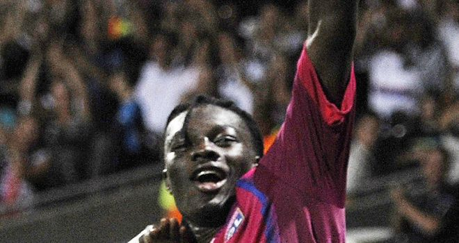 Gomis: Match-winner for Lyon at Djion
