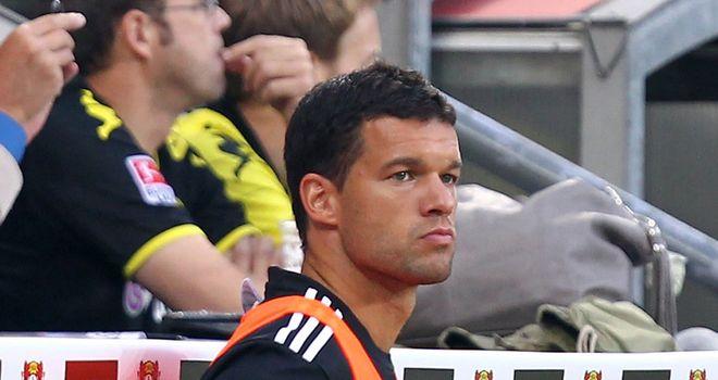Ballack: Struggles to get a game at Leverkusen