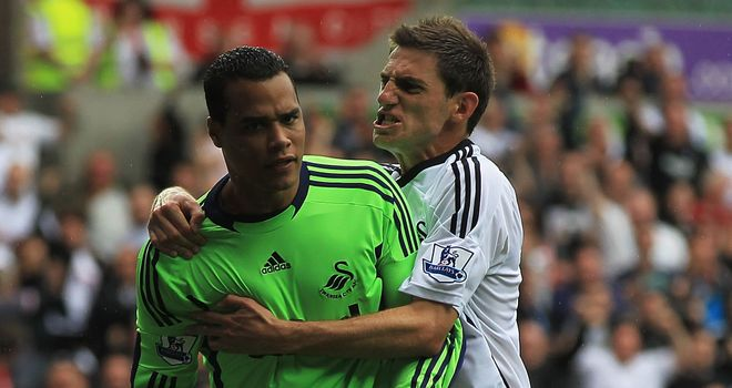 Vorm: Helped Swansea secure their first ever Premier League point on Saturday