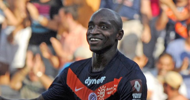 Souleymane Camara fired Montpellier to the top of the table