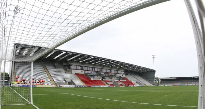 Globe Arena: Home to Morecambe
