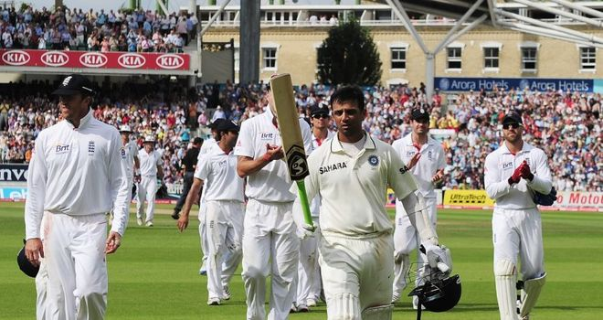 Rahul Dravid: Enjoyed a long distinguished career