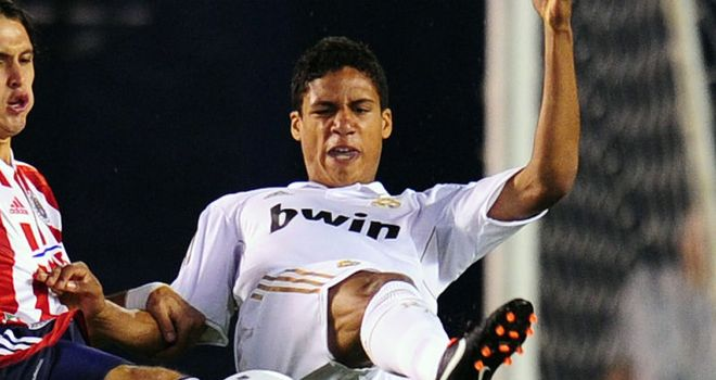 Varane: Looking forward to making his mark at Santiago Bernabeu