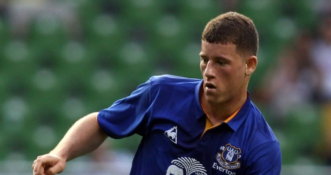 Ross Barkley: Everton midfielder has signed his first long-term contract at Goodison Park