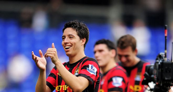 Nasri: Says he still loves Arsenal despite move to Man City