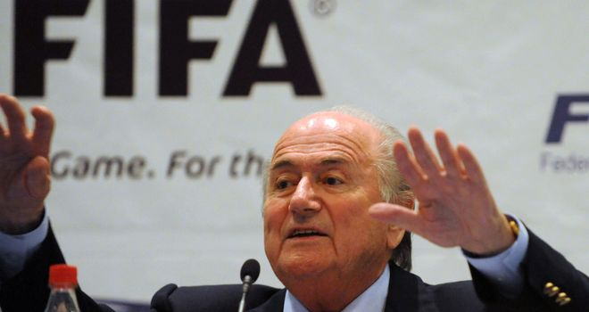 Sepp Blatter: Has sparked controversy with his comments regarding racism in football