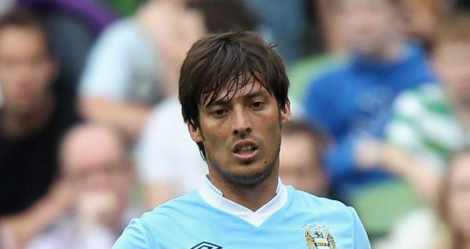 David Silva: Hoping Manchester City can pick up their first Champions League victory on Tuesday
