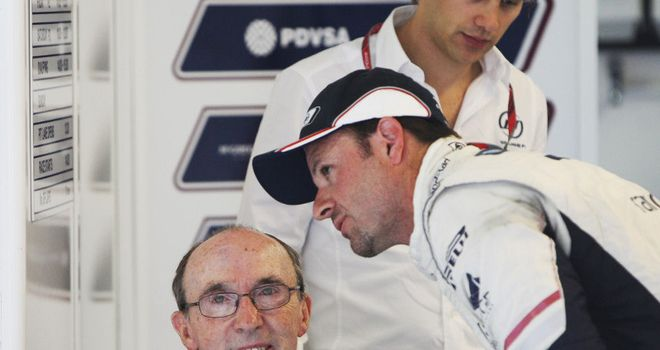 Sir Frank Williams will remain as team principal after he steps down from the board of Williams Grand Prix Holdings