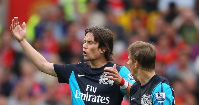 Rosicky: Says Gunners can turn season around after United hammering
