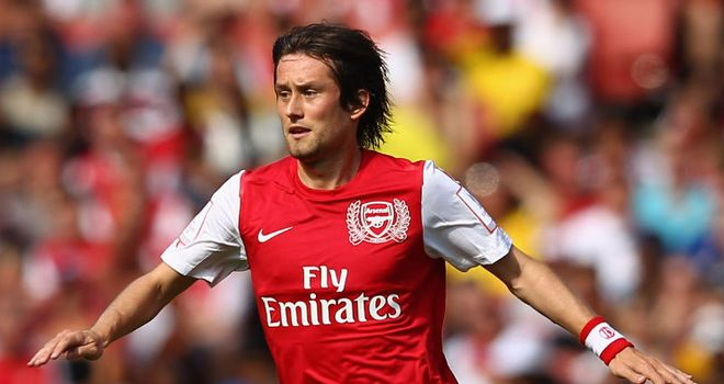 Tomas Rosicky: Pleased the Czech Republic finished second but is now a fitness worry for Arsenal