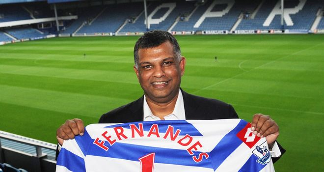 Tony Fernandes: Fully committed to his role at Queens Park Rangers