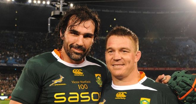 Matfield and Smit: 'More than capable'