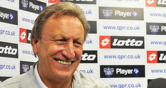 Warnock: Knows Rangers must start scoring to avoid being in relegation trouble