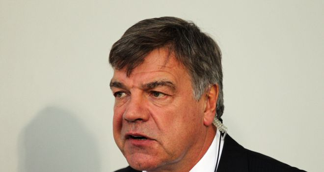 Allardyce: Wants his side score more goals.