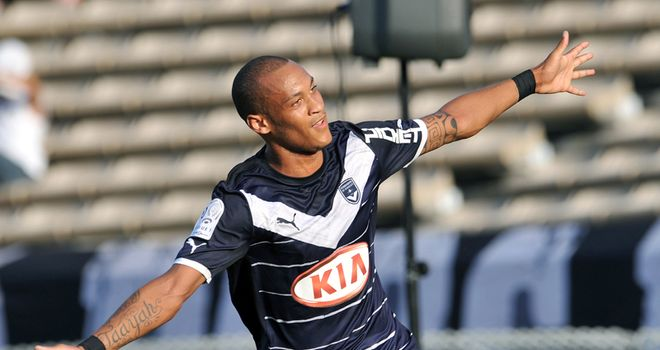 Yoan Gouffran: Grabbed the equaliser for Bordeaux against PSG