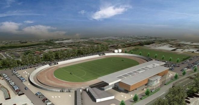 Belle Vue: Artist impression of new stadium
