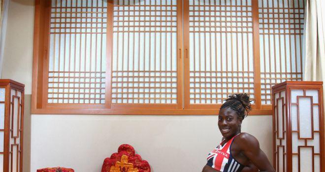 Christine Ohuruogu: British 400m runner back in form after fitness problems