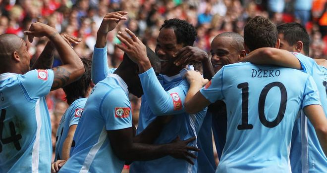 Lescott: City defender and his team-mates are preparing to join European elite